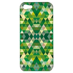 Forest Abstract Geometry Background Apple Iphone 5 Hardshell Case