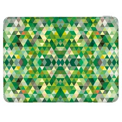 Forest Abstract Geometry Background Samsung Galaxy Tab 7  P1000 Flip Case