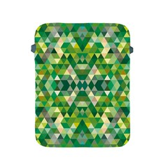 Forest Abstract Geometry Background Apple Ipad 2/3/4 Protective Soft Cases