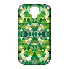 Forest Abstract Geometry Background Samsung Galaxy S4 Classic Hardshell Case (pc+silicone)