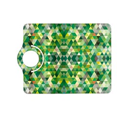 Forest Abstract Geometry Background Kindle Fire Hd (2013) Flip 360 Case