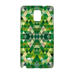 Forest Abstract Geometry Background Samsung Galaxy Note 4 Hardshell Case