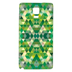 Forest Abstract Geometry Background Galaxy Note 4 Back Case
