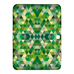 Forest Abstract Geometry Background Samsung Galaxy Tab 4 (10 1 ) Hardshell Case