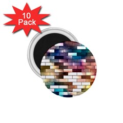 Background Wall Art Abstract 1 75  Magnets (10 Pack)