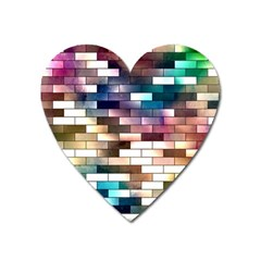 Background Wall Art Abstract Heart Magnet
