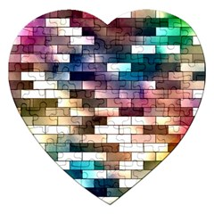 Background Wall Art Abstract Jigsaw Puzzle (heart)