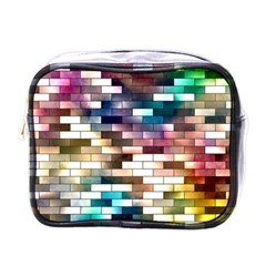 Background Wall Art Abstract Mini Toiletries Bags