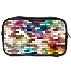 Background Wall Art Abstract Toiletries Bags