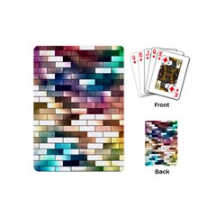 Background Wall Art Abstract Playing Cards (mini)