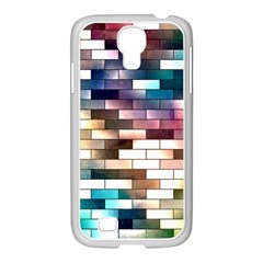 Background Wall Art Abstract Samsung Galaxy S4 I9500/ I9505 Case (white)