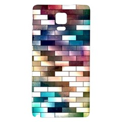 Background Wall Art Abstract Galaxy Note 4 Back Case by Nexatart