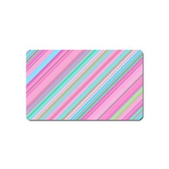 Background Texture Pattern Magnet (name Card)