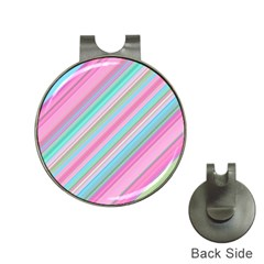 Background Texture Pattern Hat Clips With Golf Markers
