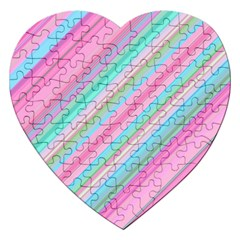 Background Texture Pattern Jigsaw Puzzle (heart)