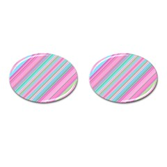 Background Texture Pattern Cufflinks (oval)