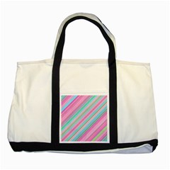 Background Texture Pattern Two Tone Tote Bag