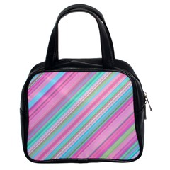 Background Texture Pattern Classic Handbags (2 Sides)