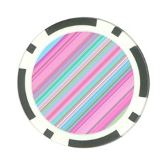 Background Texture Pattern Poker Chip Card Guard (10 Pack)