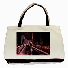Texture Abstract Background City Basic Tote Bag (two Sides)