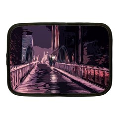 Texture Abstract Background City Netbook Case (medium)