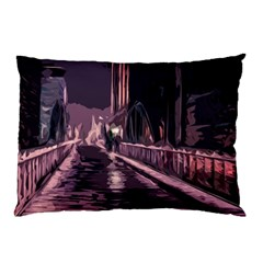 Texture Abstract Background City Pillow Case