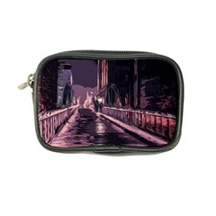 Texture Abstract Background City Coin Purse