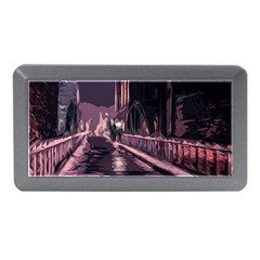 Texture Abstract Background City Memory Card Reader (mini)