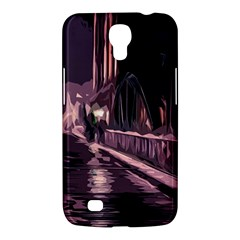 Texture Abstract Background City Samsung Galaxy Mega 6 3  I9200 Hardshell Case