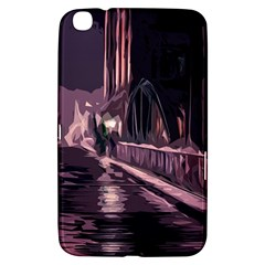 Texture Abstract Background City Samsung Galaxy Tab 3 (8 ) T3100 Hardshell Case