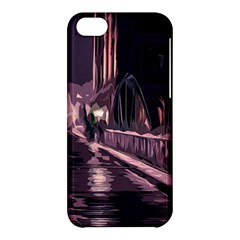 Texture Abstract Background City Apple Iphone 5c Hardshell Case by Nexatart