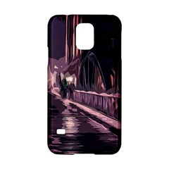 Texture Abstract Background City Samsung Galaxy S5 Hardshell Case