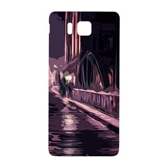 Texture Abstract Background City Samsung Galaxy Alpha Hardshell Back Case