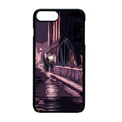 Texture Abstract Background City Apple Iphone 7 Plus Seamless Case (black)