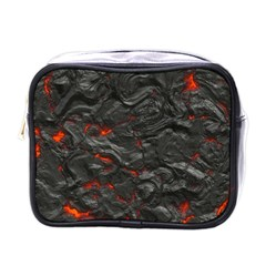 Rock Volcanic Hot Lava Burn Boil Mini Toiletries Bags