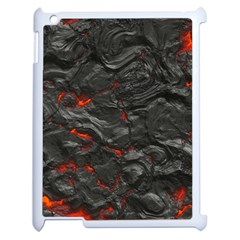Rock Volcanic Hot Lava Burn Boil Apple Ipad 2 Case (white)
