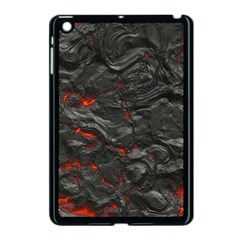 Rock Volcanic Hot Lava Burn Boil Apple Ipad Mini Case (black) by Nexatart