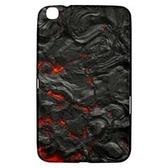 Rock Volcanic Hot Lava Burn Boil Samsung Galaxy Tab 3 (8 ) T3100 Hardshell Case  by Nexatart