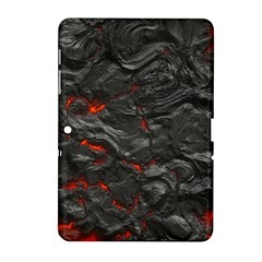 Rock Volcanic Hot Lava Burn Boil Samsung Galaxy Tab 2 (10 1 ) P5100 Hardshell Case