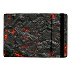 Rock Volcanic Hot Lava Burn Boil Samsung Galaxy Tab Pro 10 1  Flip Case
