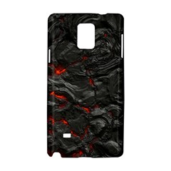 Rock Volcanic Hot Lava Burn Boil Samsung Galaxy Note 4 Hardshell Case