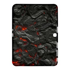 Rock Volcanic Hot Lava Burn Boil Samsung Galaxy Tab 4 (10 1 ) Hardshell Case