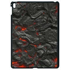 Rock Volcanic Hot Lava Burn Boil Apple Ipad Pro 9 7   Black Seamless Case