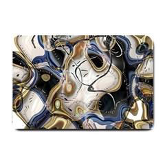 Time Abstract Dali Symbol Warp Small Doormat