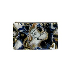Time Abstract Dali Symbol Warp Cosmetic Bag (small)