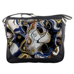 Time Abstract Dali Symbol Warp Messenger Bags