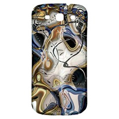Time Abstract Dali Symbol Warp Samsung Galaxy S3 S Iii Classic Hardshell Back Case