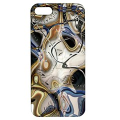 Time Abstract Dali Symbol Warp Apple Iphone 5 Hardshell Case With Stand
