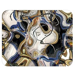 Time Abstract Dali Symbol Warp Double Sided Flano Blanket (medium)  by Nexatart