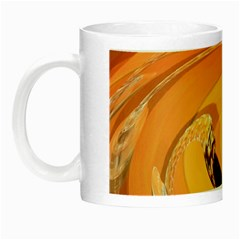 Spiral Abstract Colorful Edited Night Luminous Mugs
